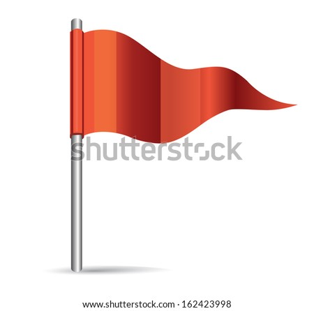 flag icon - stock vector