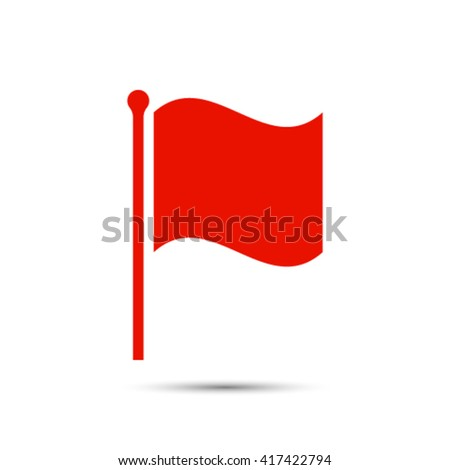 flag icon stock vector illustration