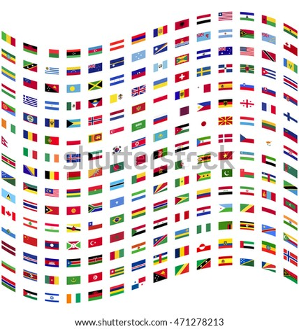 flag of all world countries flags