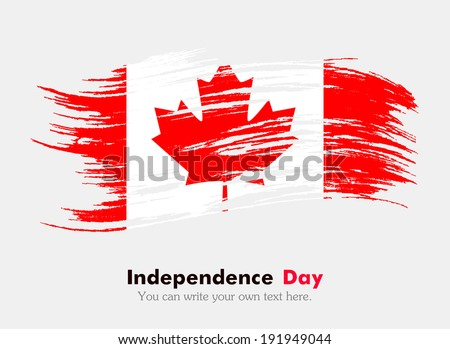 Flag of Canada - stock vector