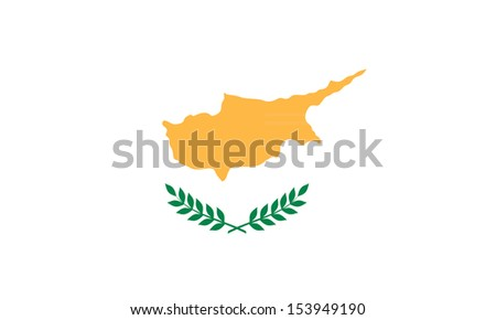Flag of Cyprus - stock vector