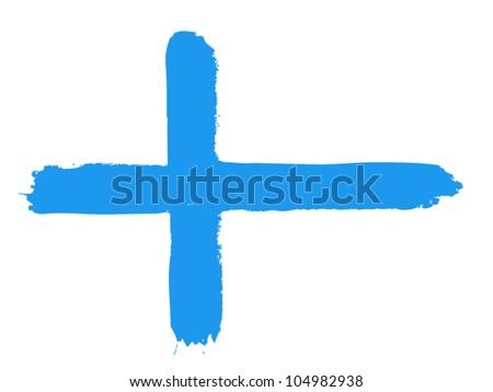 Flag of Finland, vector illustration - stock vector