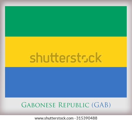 Gabon flag stock images royalty free images vectors shutterstock flag of gabonbon flag vector illustration sciox Gallery