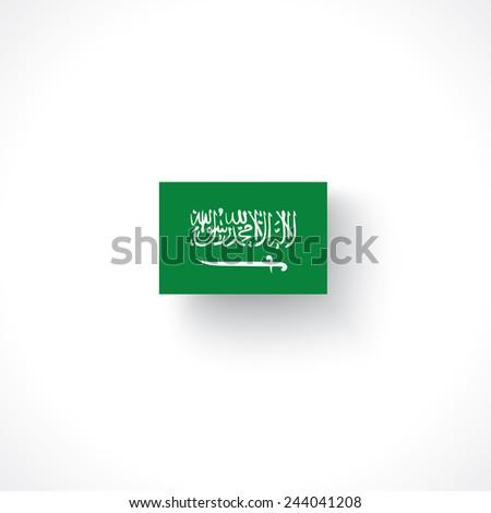 flag of saudi arabia - stock vector