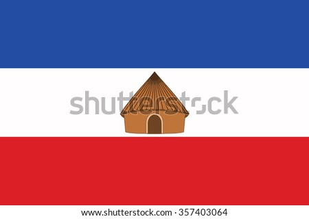 Flag of Southern Nations, Nationalities, and Peoples' Region ethnically based regional state of Ethiopia. Vector illustration. - stock vector