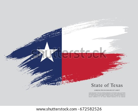 Flag Of Texas United States America