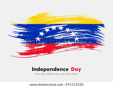 Flag of Venezuela - stock vector
