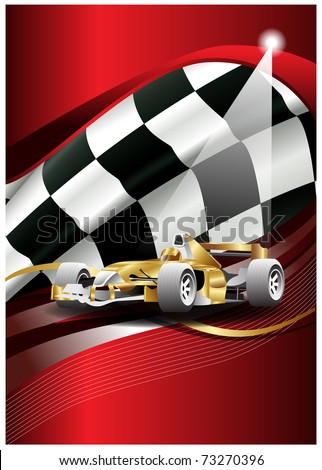 flag vector and car of one formulate