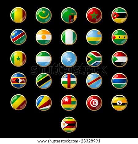 Flags of African states 002