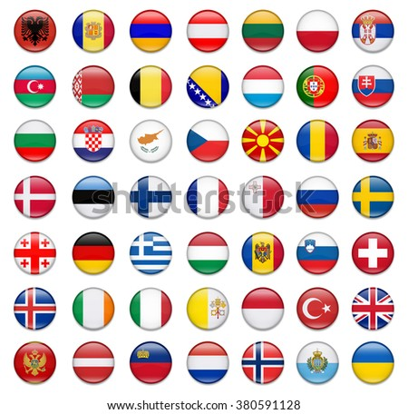 Flags Of Europe-Complete