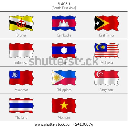 Flags of Southeastern Asia 3