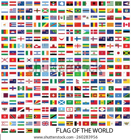 flags of the world banner - photo #13