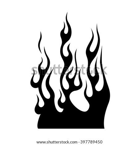 car flames stock images royalty free images vectors shutterstock. Black Bedroom Furniture Sets. Home Design Ideas