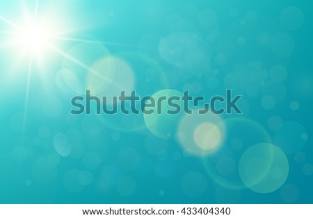 flare light vector image - stock vector