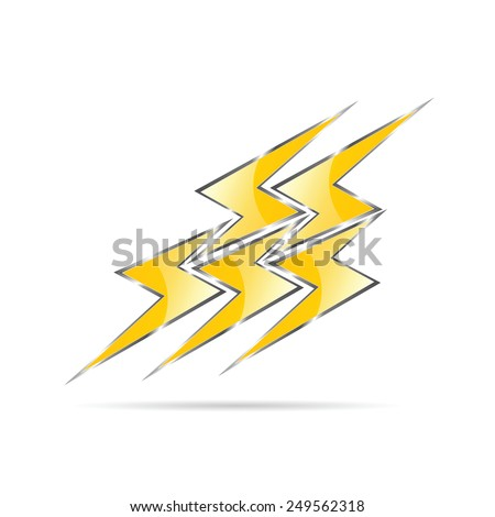 flash color vector illustration