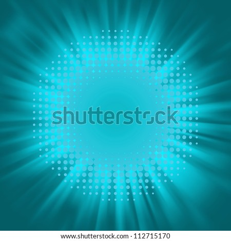 Flash element. EPS 8 vector file included - stock vector