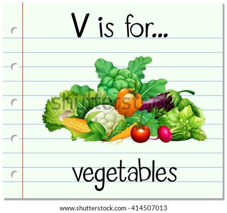 V Is For Vegetables V Is For Vegetables St...