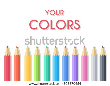 flat art painter workshop with paint supplies equipment tools. Vector illustration design