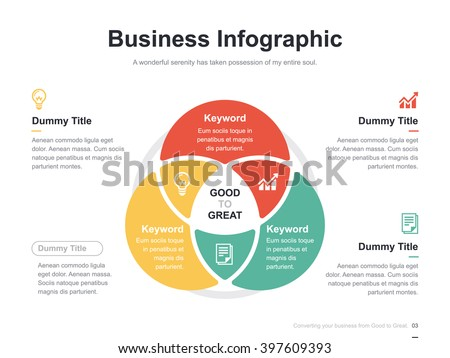 diagram stock photos  royalty free images  amp  vectors   shutterstockflat business presentation vector slide template   circle venn diagram