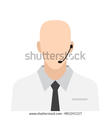 Flat call center agent icon,call center agent Icon, call center agent Icon Vector, call center agent Icon, call center agent Icon Flat, call center agent Icon, Flat Professions icon set