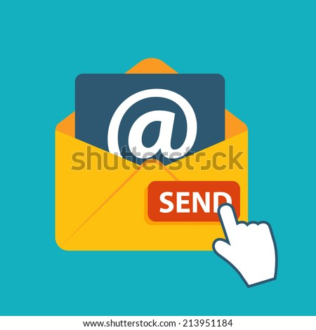To Send an Email Clip Art