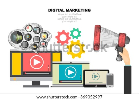 Stock images royalty free images vectors shutterstock for Digital marketing materials