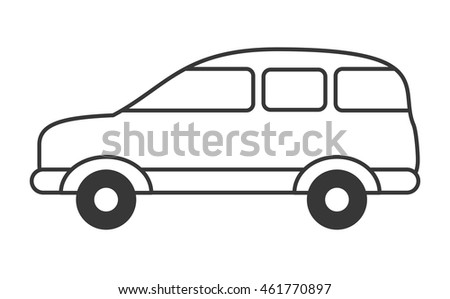 Free Printable Realistic Cat Coloring Pages likewise Sharing Economy Infographics Set as well Top Mini Cars also 61016 Cars Coloring Page likewise White Vector Car Sedan Template. on minivan cartoon