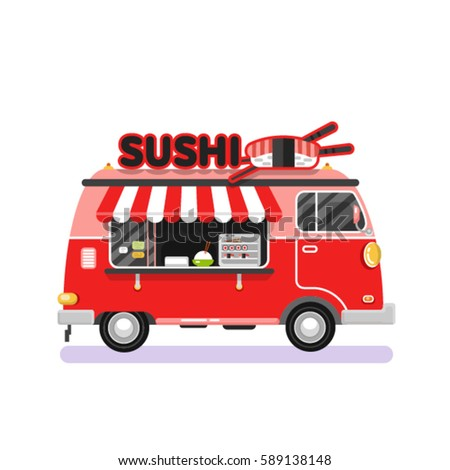 Sushi On The Roll Food Truck
