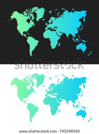 Flat earth graph world map illustration stock vector 745048960 flat earth graph world map illustration gumiabroncs Gallery