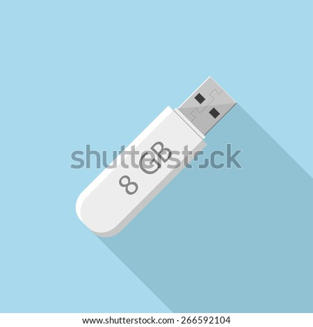 how to use a flat usb flash drive