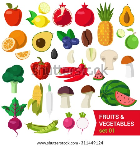 healthy fruits and vegetables list is avocado a fruit or a vegetable