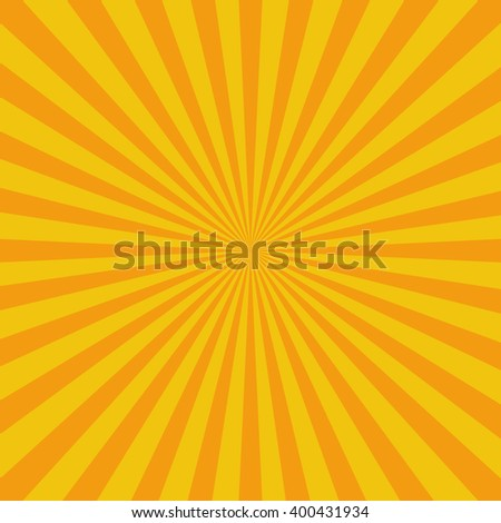 Flat Sunburst Pattern. Background vector illustration - stock vector
