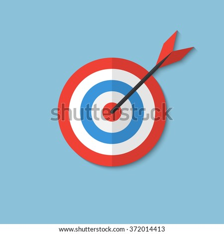 Flat target - Business aims - Smart solutions - Target ideas