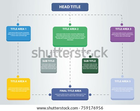Flat vector business step by step stock vector 2018 759176956 flat vector business step by step flow chart big title edition chart template accmission Choice Image