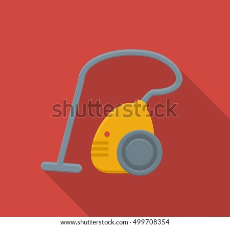 flat Vector icon - illustration of Vacuum cleaner