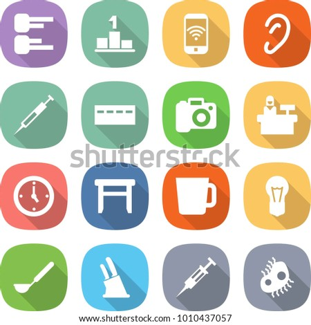 Ear syringe stock images royalty free images vectors shutterstock flat vector icon set diagram vector pedestal phone wireless ear syringe ccuart Images