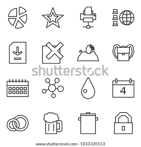 Flat vector icon set graph vector stock vector 1033320553 shutterstock flat vector icon set graph vector favorites printer network document download ccuart Gallery