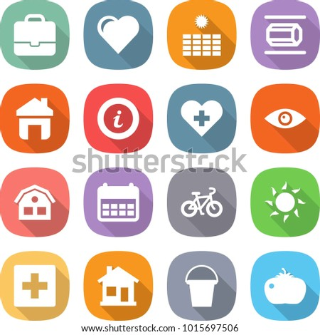 Set 16 Care Outline Icons Such Stock Vector 642502126 - Shutterstock