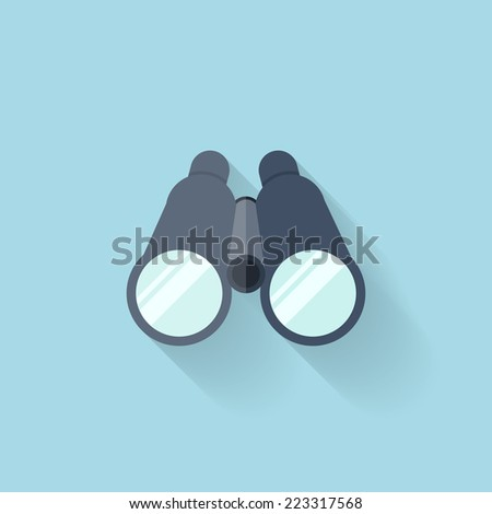 binoculars icon vector - photo #44