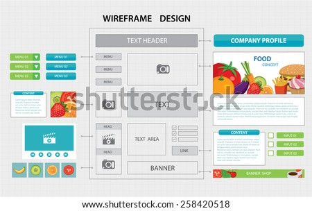 web wireframe stock images royalty free images vectors shutterstock. Black Bedroom Furniture Sets. Home Design Ideas