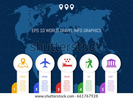 Flat world map divided into editable vectores en stock 626331797 flat world map country names divided into editable contours of countries info graphic gumiabroncs Images