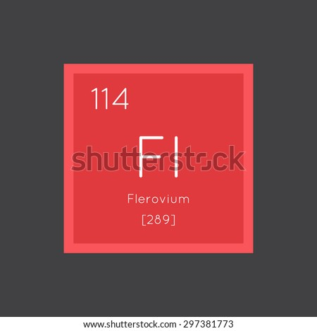 Flerovium stock images royalty free images vectors for 114 element periodic table
