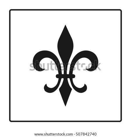 Fleur de lis stock images royalty free images vectors fleur de lis symbol silhouette heraldic symbol vector illustration medieval sign voltagebd Choice Image