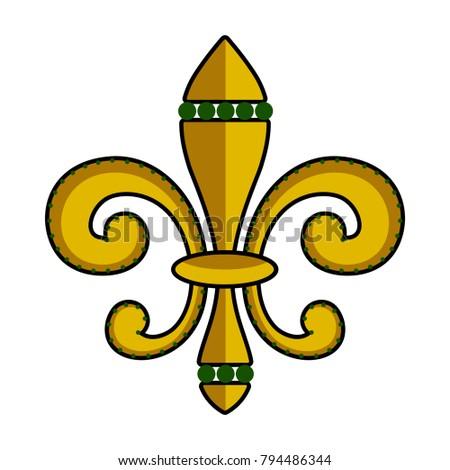 Lys stock images royalty free images vectors shutterstock - Fleur de lys symbole ...