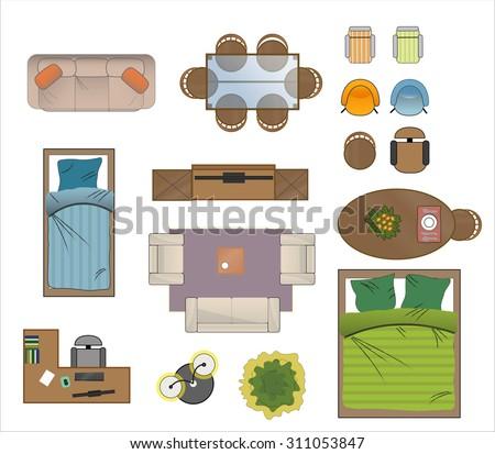 Furniture Floor Plan floor plan furniture stock images, royalty-free images & vectors