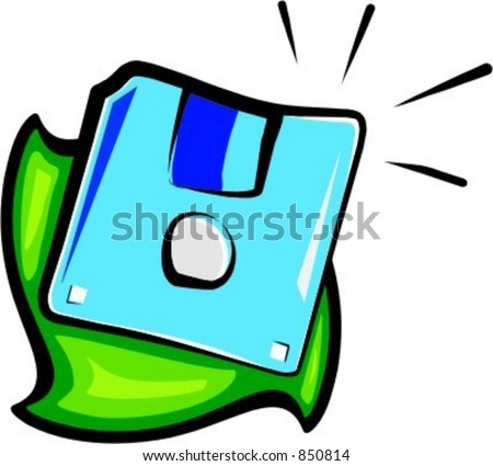 Floppy disc. Check my portfolio for many more images of this series.