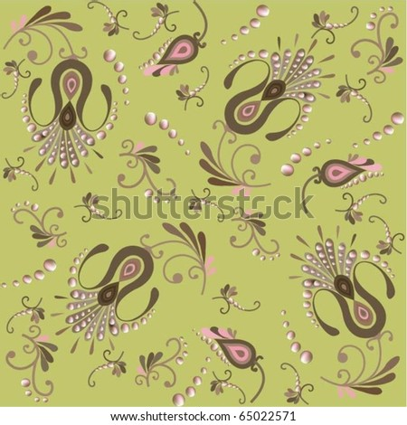Floral background. eps10 - stock vector