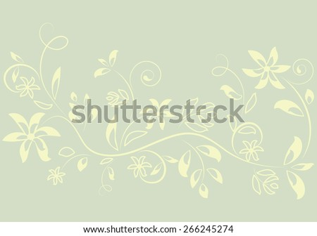 floral background for any use