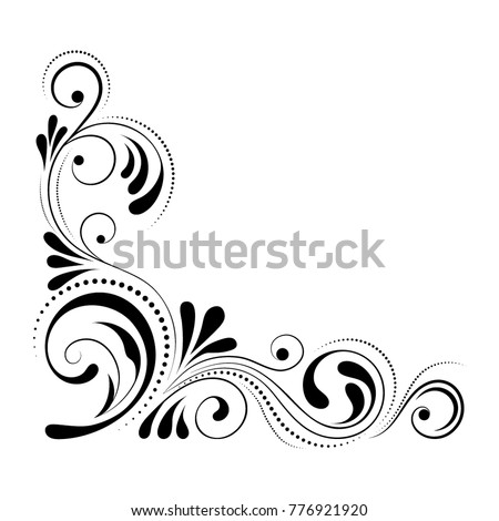 Corner stock images royalty free images vectors - Wallpapering around a curved corner ...