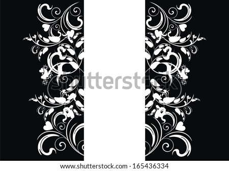 floral elements for design. - stock vector
